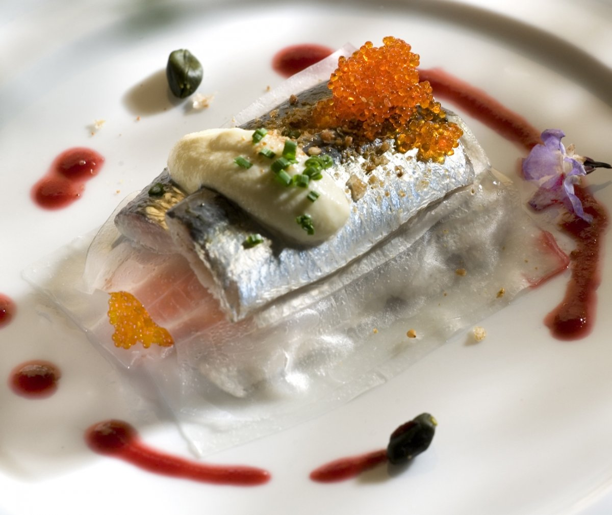 Uno de los platos de pescado del restaurante Alejandro