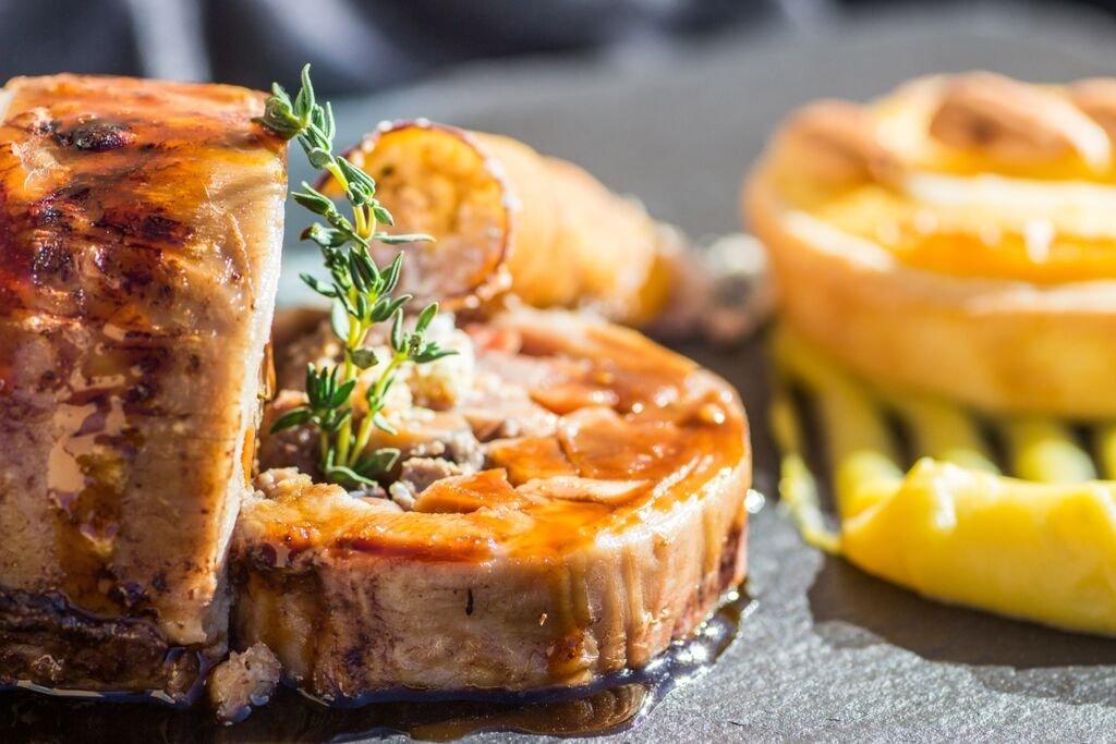 Uno de los platos del chef Vitor Monteiro