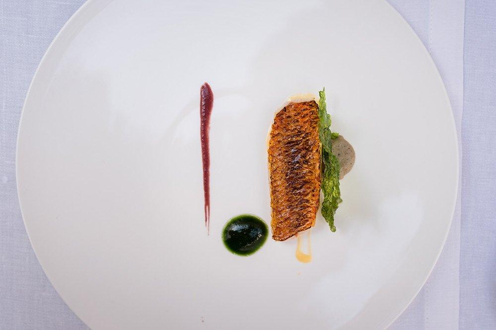 Uno de los platos del restaurante Skina
