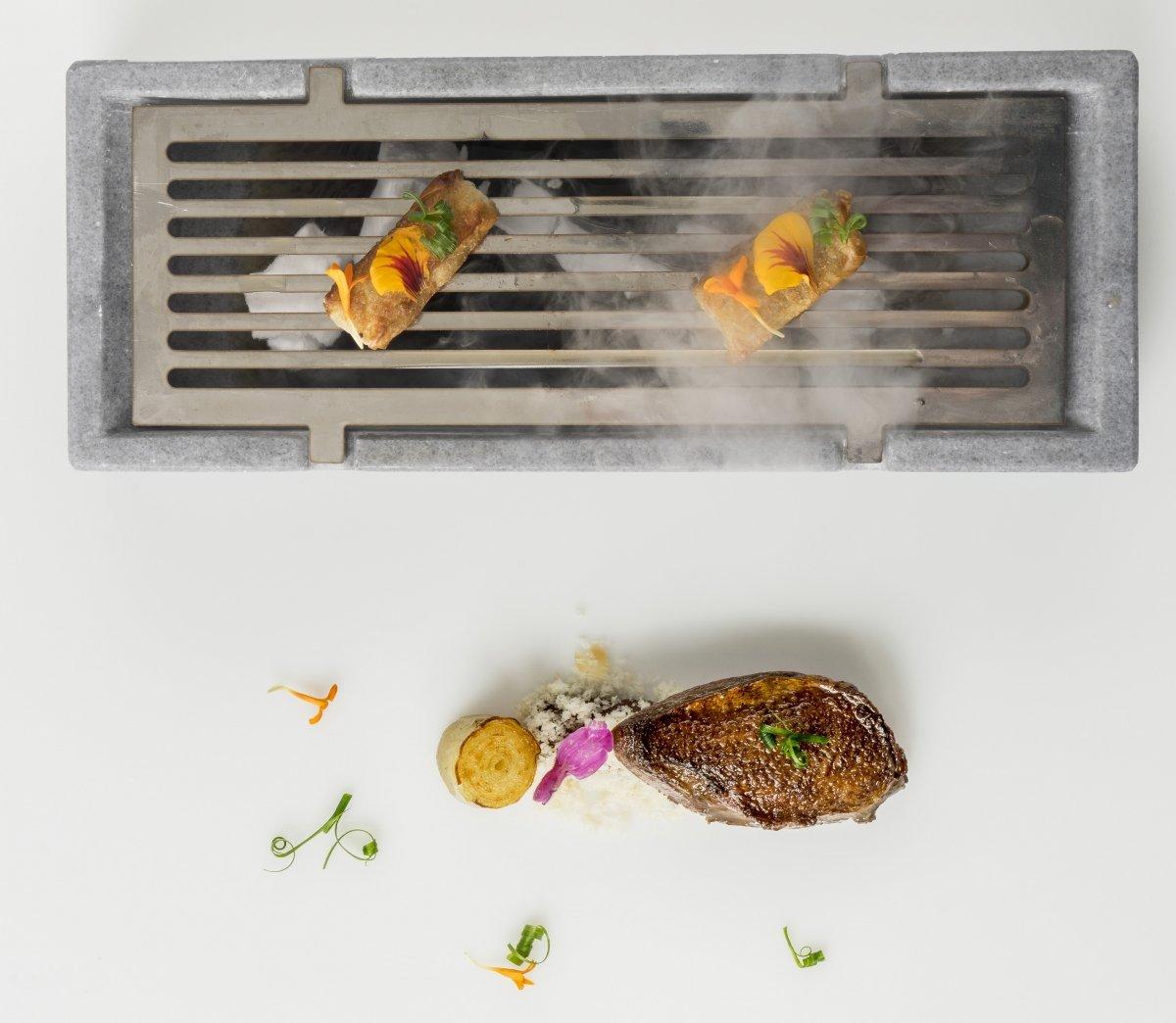 Uno de los platos más innovadores del Restaurante Europa