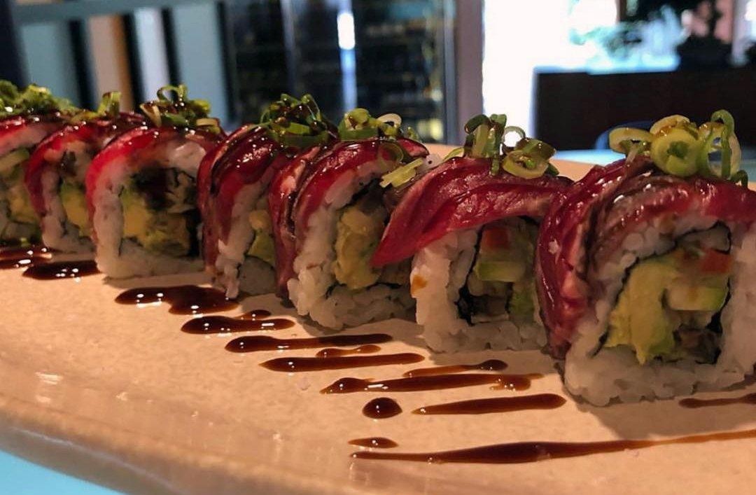 Uno de los platos más vistosos de Sensu