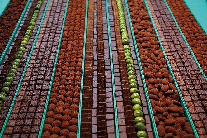 Patrick Roger, chocolate hecho arte