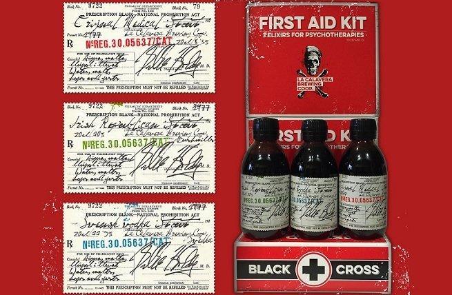 Variedades que componen First Aid Kit de La Calavera