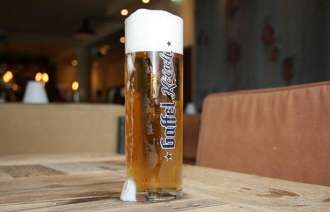 Vaso de cerveza Gaffel