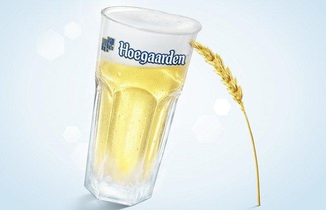 Vaso de Hooegaarden Witbier