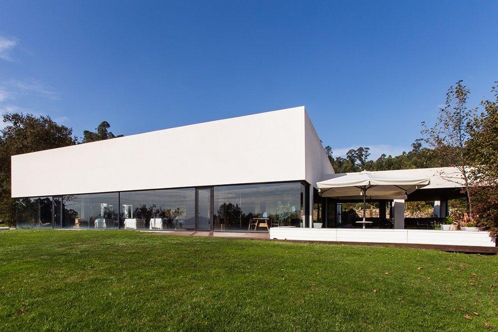 Vista exterior del restaurante Pepe Vieira Camiño da Serpe
