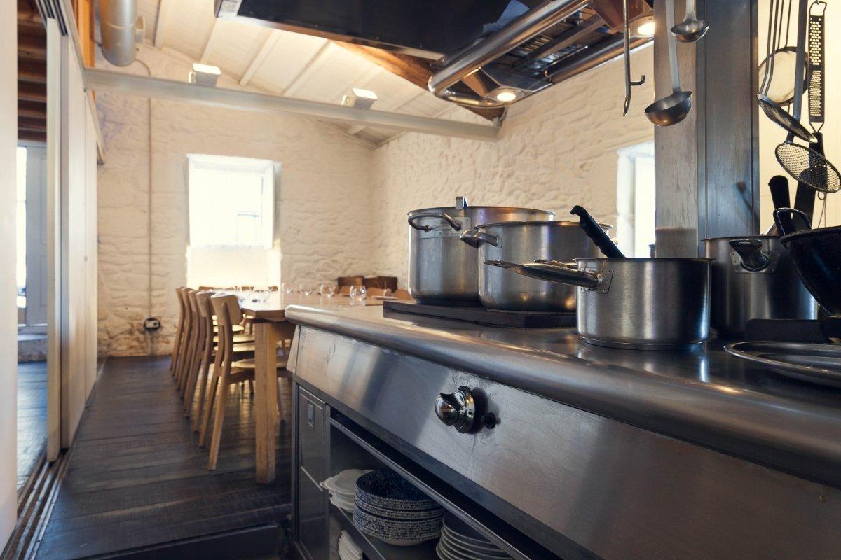 Vista parcial de la Mesa(da)Cociña de Loxe Mareiro