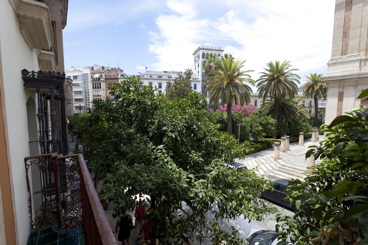 Vistas del restaurante Iguanas Ranas Centro