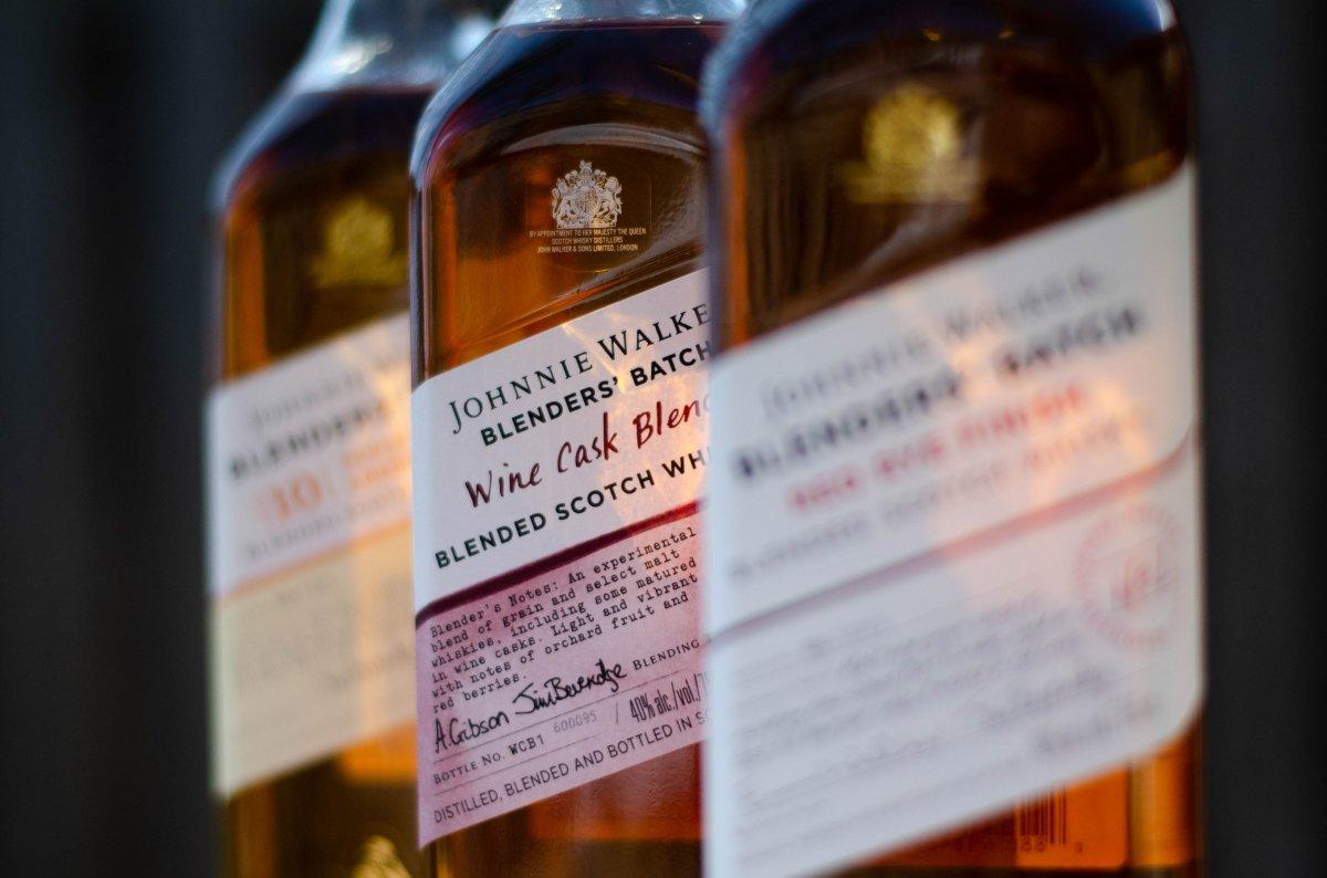 Whisky blended Johnie Walker