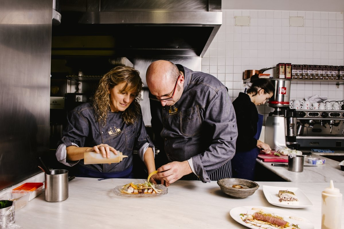 Yolanda León y Juanjo Pérez, chefs de Cocinandos